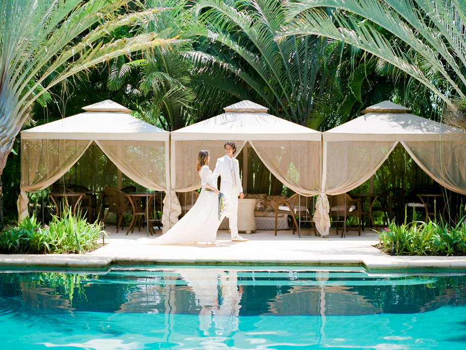 Paradise Plantation Estate Hawaii Wedding Ceremony and Reception