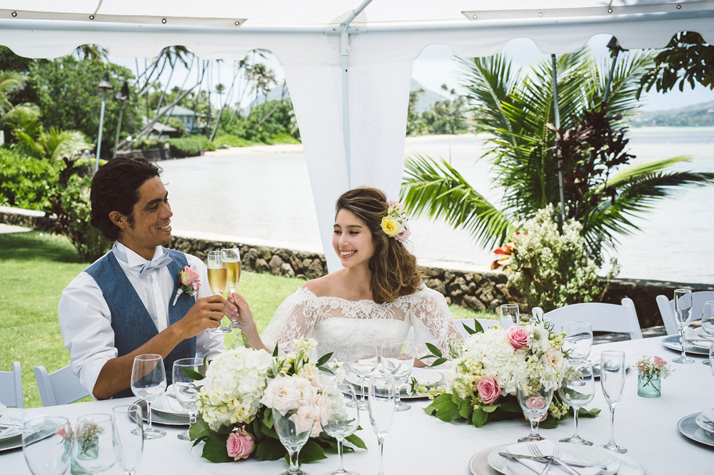 Tree House Hawaii Estate Wedding Ceremony and Reception