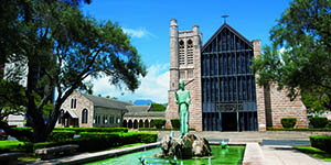 St Andrews Cathedral Hawaii Wedding