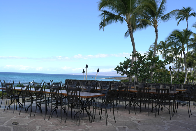 Wedding Reception at Kamuela Provision Company at Hilton Waikoloa Village