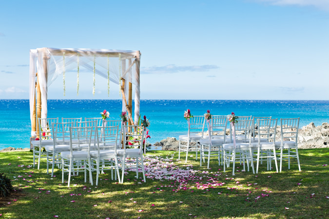 Hapuna Beach Prince Hotel, Wedding Ceremony