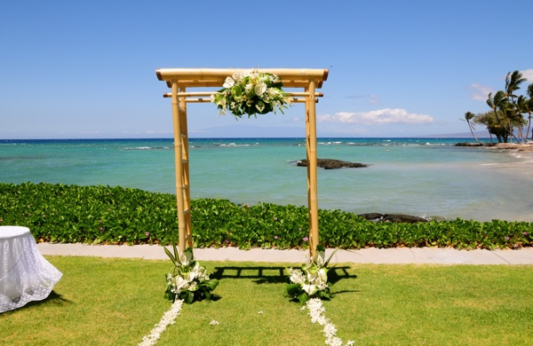 Mauna Lani Bat Resort Ceremony