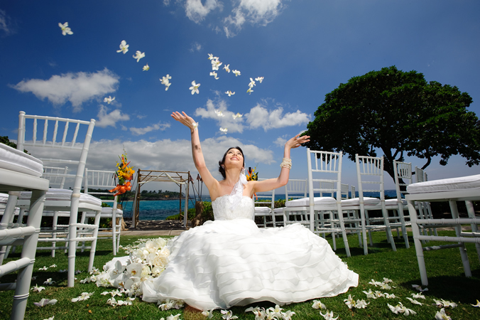 Wedding Ceremony at Mauna Kea Beach Hotel