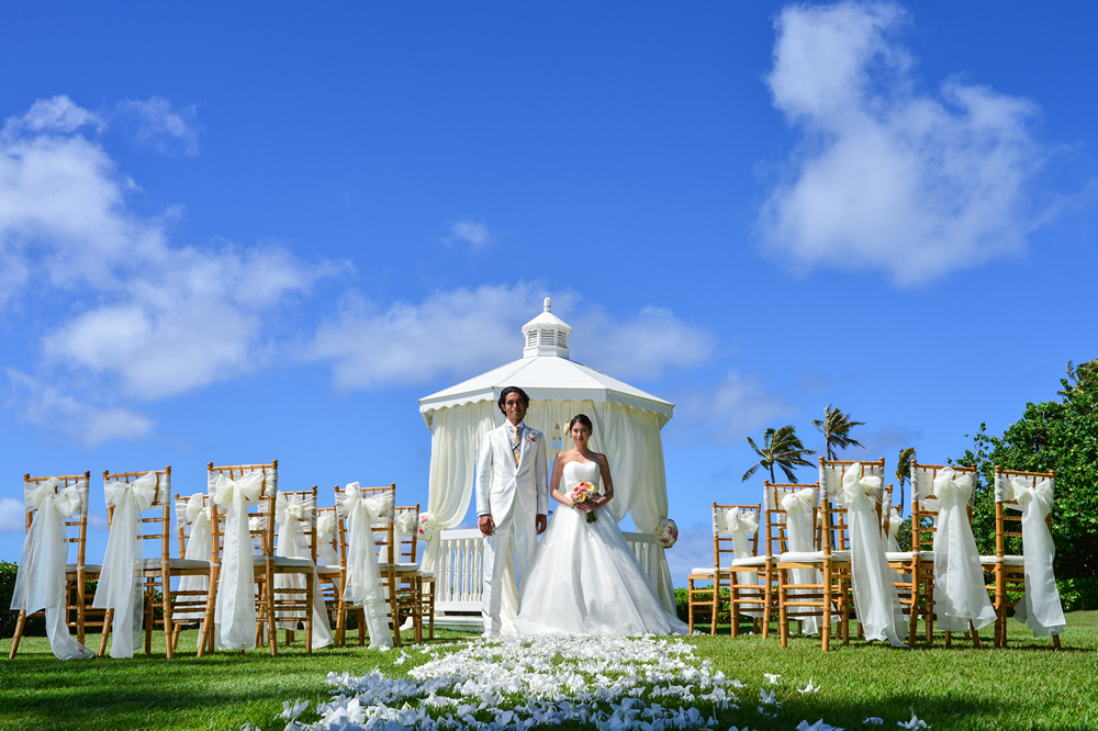 The Kahala Diamond Head Gazebo Ocean Wedding