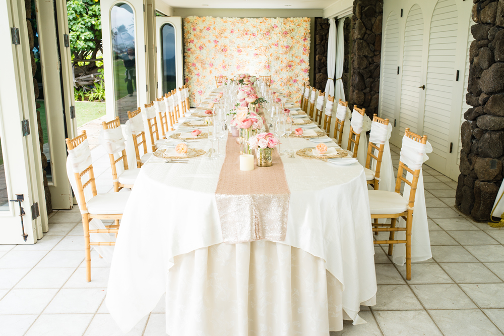 The Kahala Okekai, Hawaiian Wedding Reception