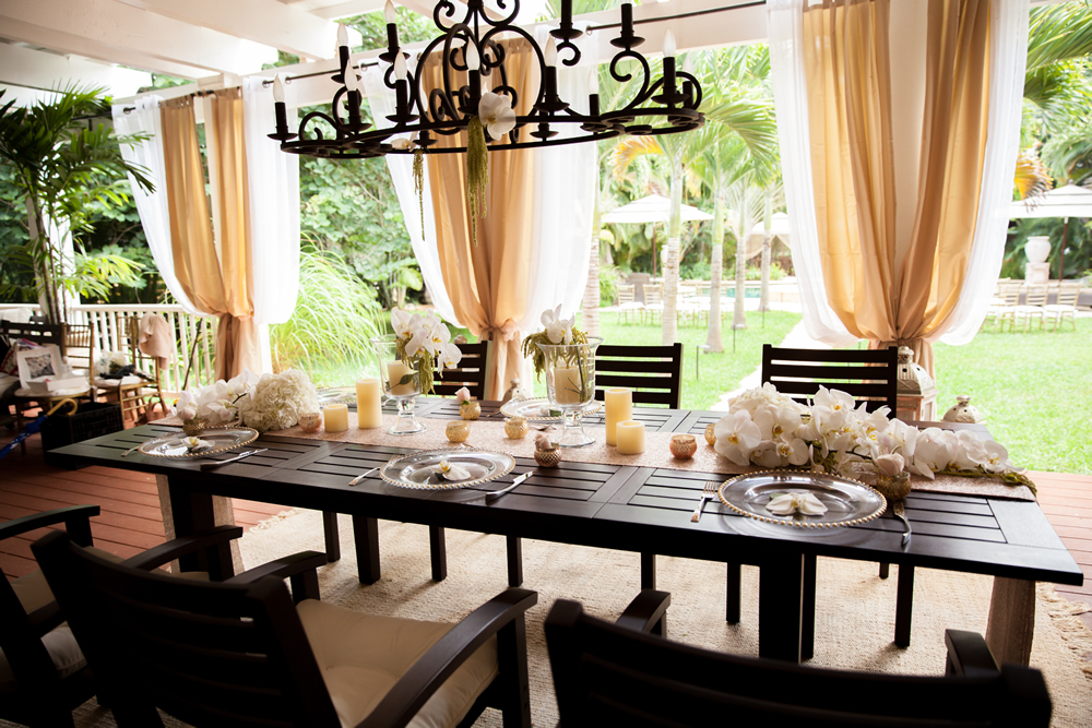 Paradise Plantation Hawaii Estate Wedding Ceremony and Reception
