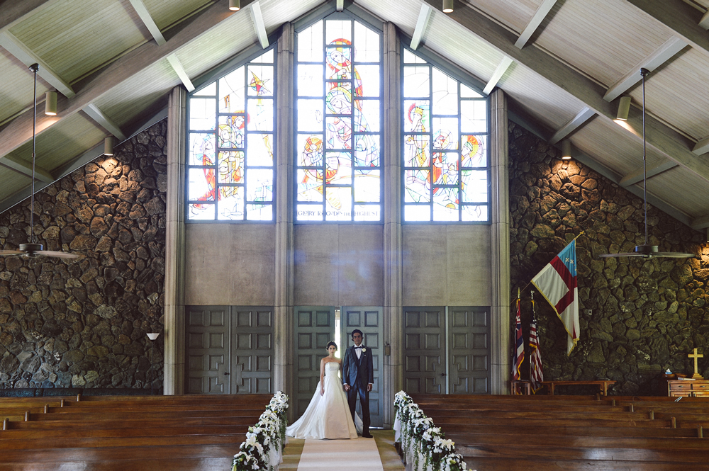 Holy Nativity Church Hawaii Wedding