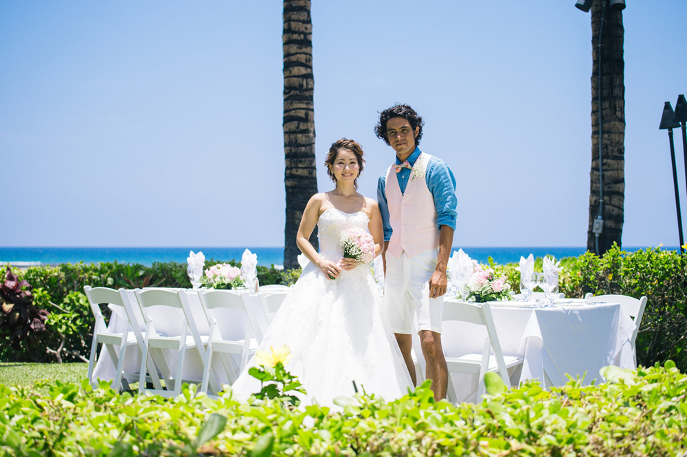 Hawaii Wedding Estate Reception