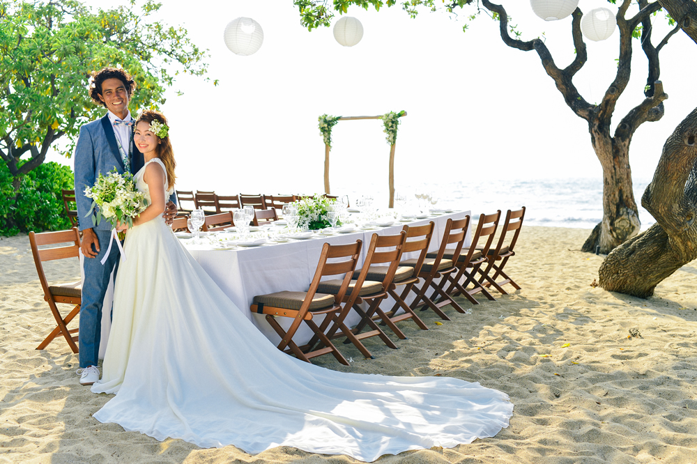 Hawaii Wedding Receptions