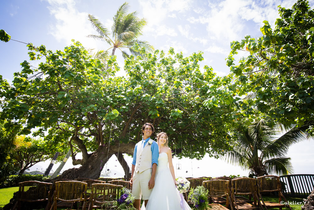 Ami House Hawaii Estate Wedding Ceremony and Reception