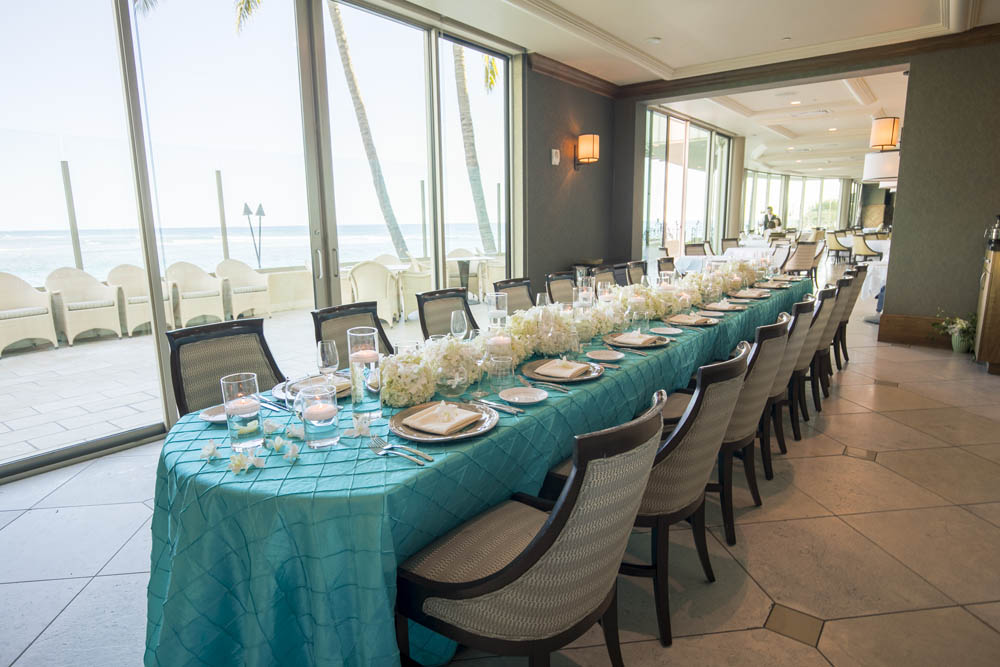 53 by the Sea, Wedding Reception