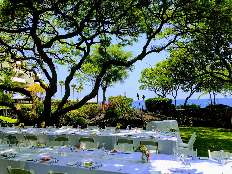 Wedding Reception at Kamuela Provision Company at Sheraton Kona Resort