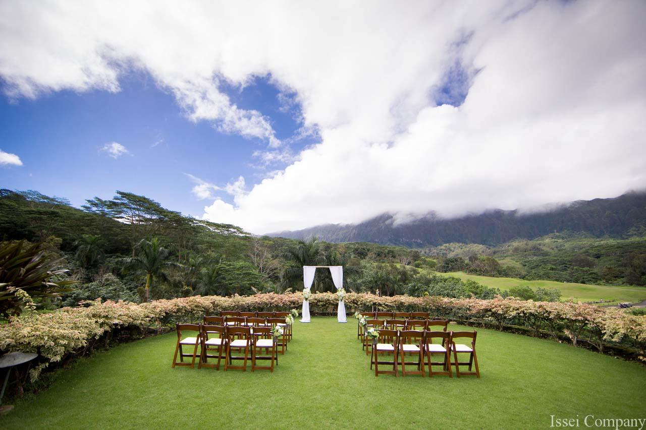 Wedding Ceremony at Royal Hawaiian Golf Club