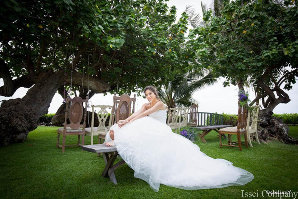 Hawaiian Villa Estate Wedding Ceremony and Reception