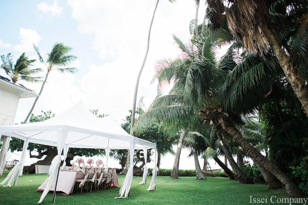 Hawaiian Villa Estate Wedding and Reception