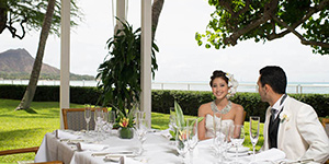 Orchid's Hawaii Wedding Reception Site
