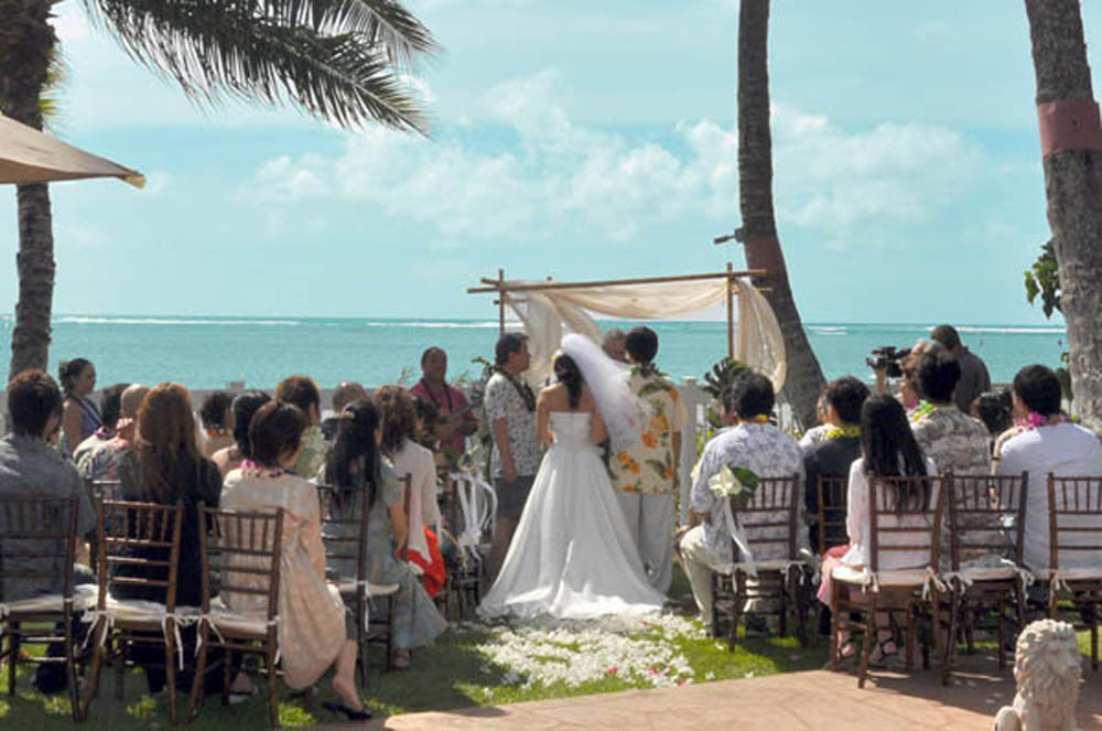 Kalanikai Hawaii Estate Wedding