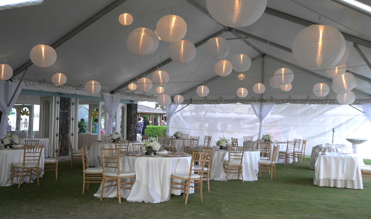 Wedding Reception at the Kahala Okekai