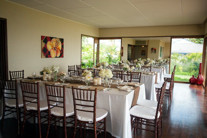 Hale Puna Kai, Beach Villa Reception